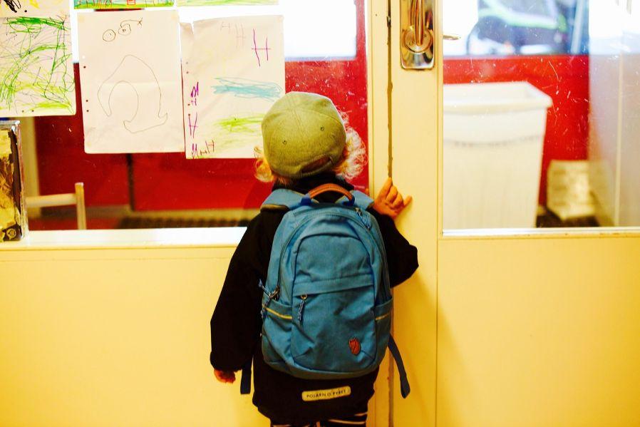 保育園に通う子供
