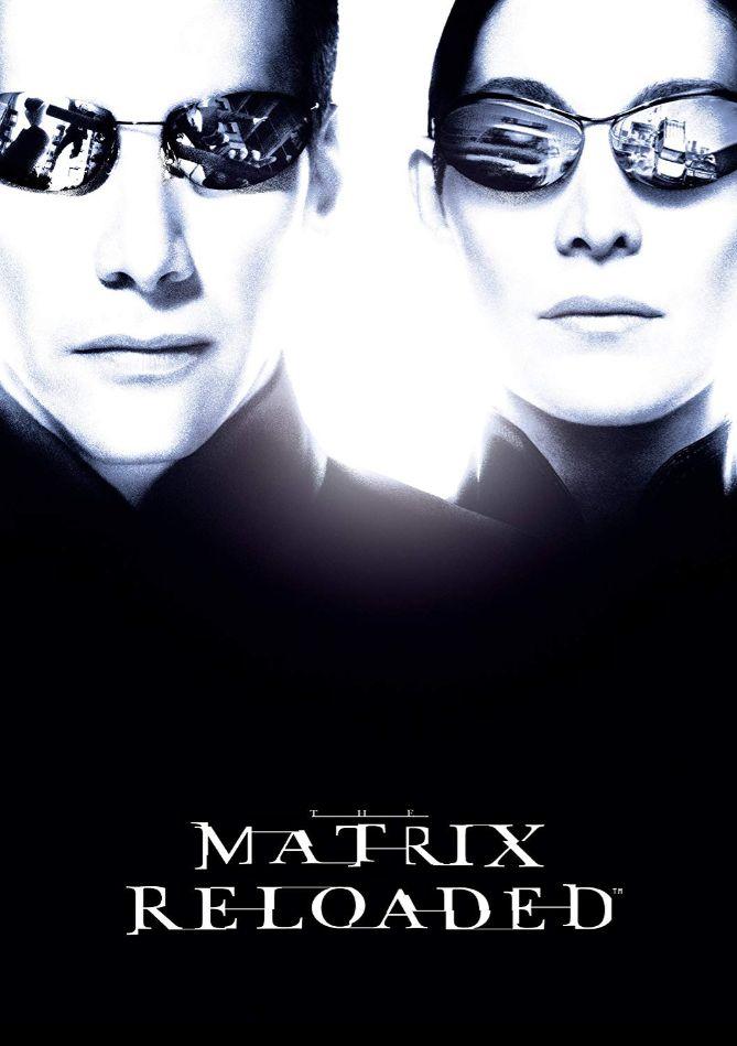 【マトリックスリローデット】DVD表紙