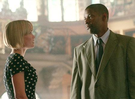 映画「マイボディガード」リサとクリーシーが初対面