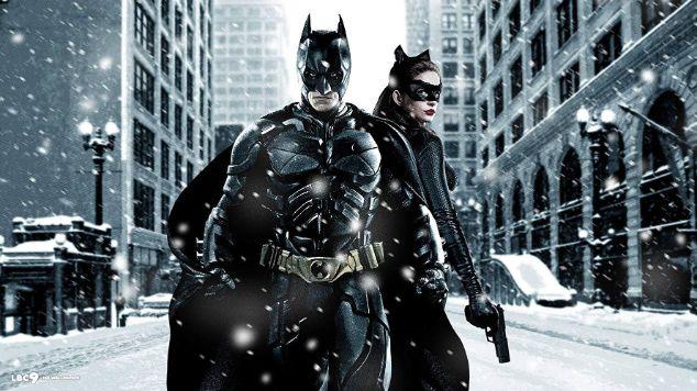 【ダークナイトライジング】バットマンとキャットウーマン