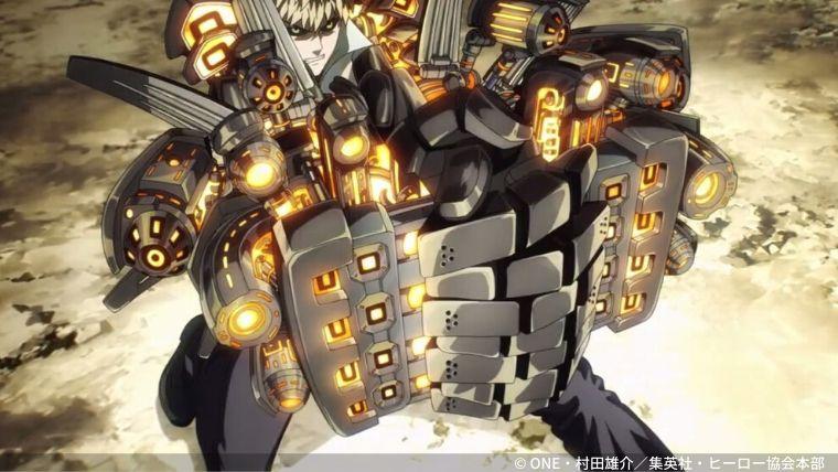 アニメ「ワンパンマン」ジェノス