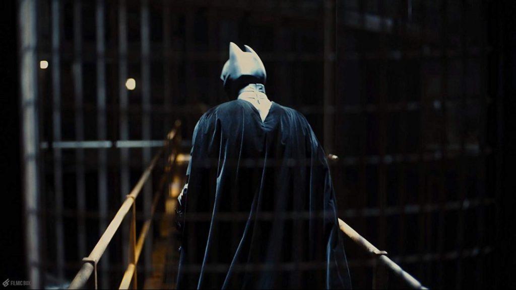 【ダークナイトライジング】バットマンの後ろ姿