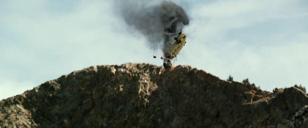 【ローンサバイバー】撃墜されるチヌークヘリ (1)