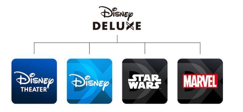ディズニーデラックスのアプリ
