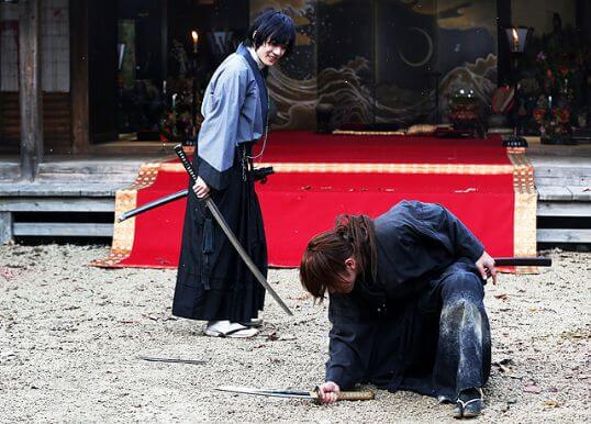 【るろうに剣心・京都大火編】宗次郎に敗れる剣心