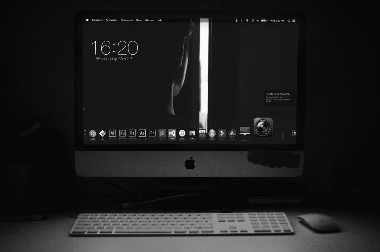 デスクトップのファイル