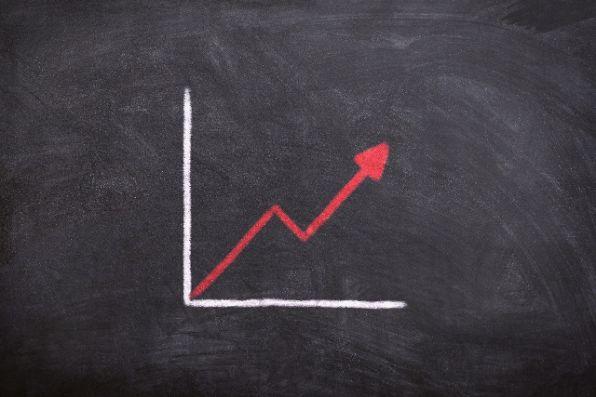 PV数と収益のチャート