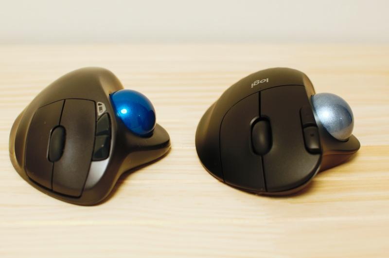 LogicoolM575(M570とボタンを比較)